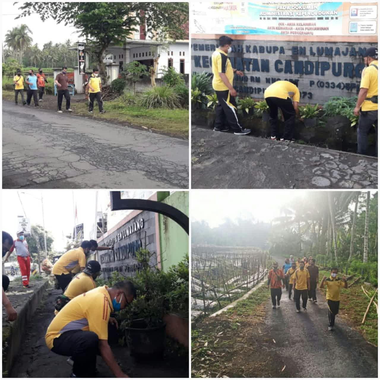 """World Clean Up Day (WCDI) dengan Tema """"Bersatu Untuk Indonesia Bersih Tahun 2020"""